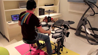 Paradise Coldplay Drumcover By Bugyean