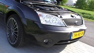 Ford Mondeo 2.0 16V Duratec HE 2002 Sound with K&N