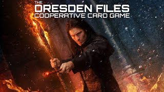 Dresden Files Co-op Card Game