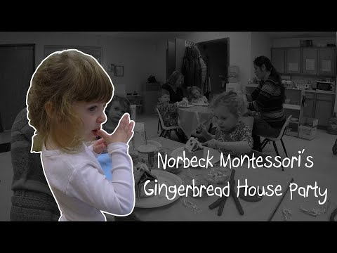 Norbeck Montessori Gingerbread House Party 2017