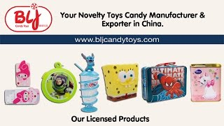 China Toy Candy Manufacturer, Distributor & Exporter | BLJ Candy Toys