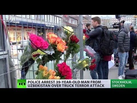 Stockholm truck attack suspect confirmed 39yo Uzbek national