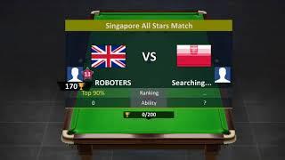 PLAYING SNOOKER STARS ONLINE 1V1. #ROBOTERSGAMING screenshot 5