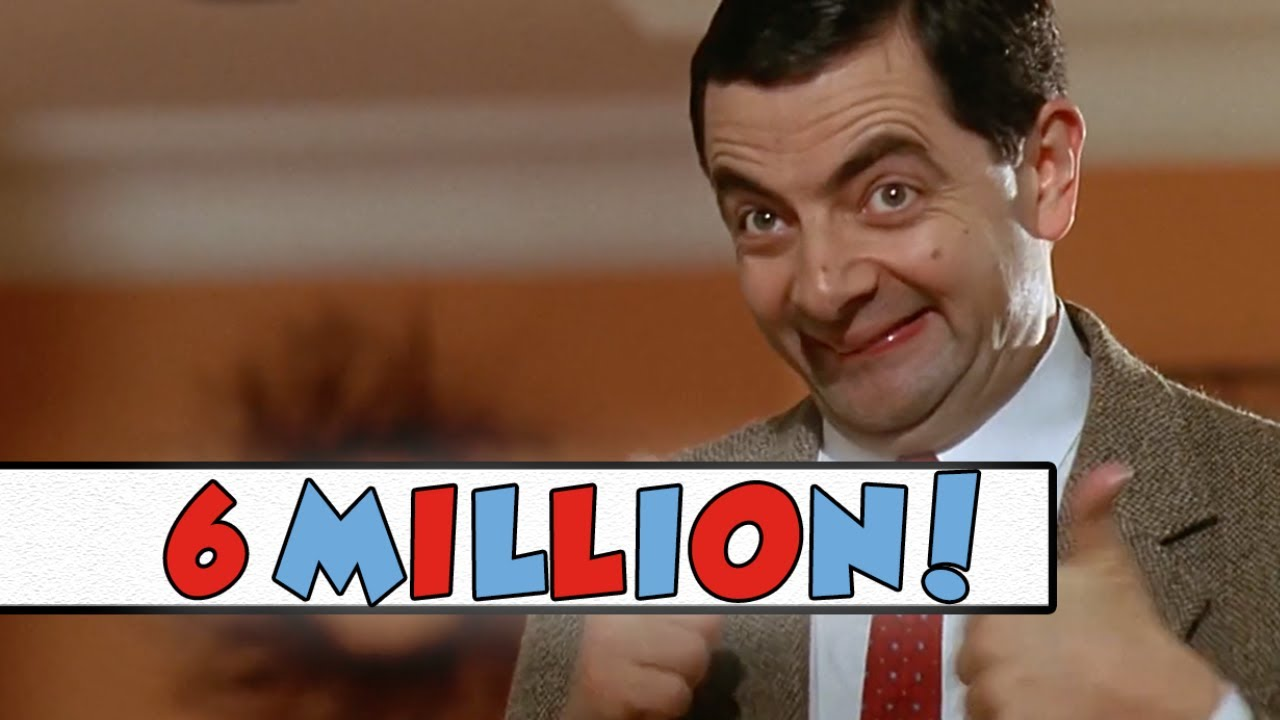 6 million subscribers thank you mr bean official youtube thank you mr bean official solutioingenieria Image collections