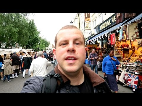PORTOBELLO ROAD MARKET + ELECTRIC CINEMA NOTTING HILL = LONDON VLOG
