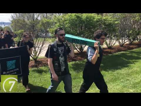A funeral for Burlington College
