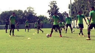 Fifa u17 world cup 2017: mexico players train at sai grounds in kolkata