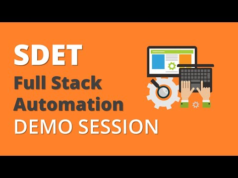 selenium-with-java- -sdet- -full-stack-automation- -online-training- -demo-session