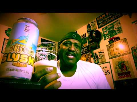 450 North Pina Colada Slushy Beer Review