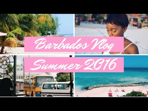 BARBADOS 2016 VLOG | My First Video!