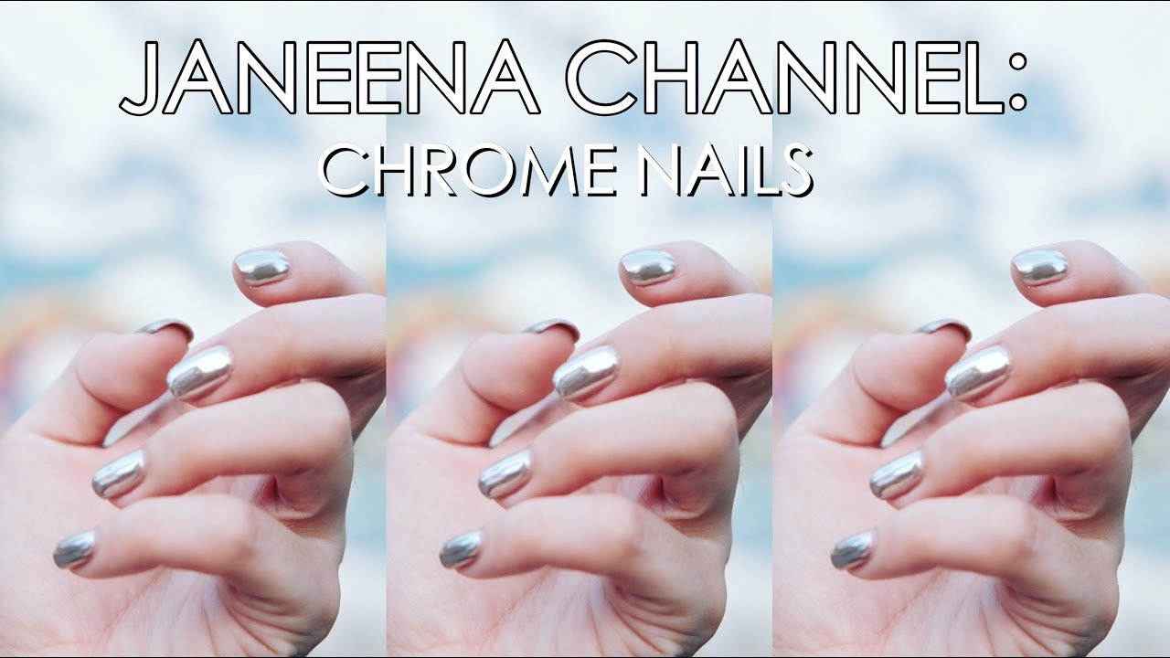 Silver Chrome Mirror Nails! Japanese Nail Salon in the Philippines ...