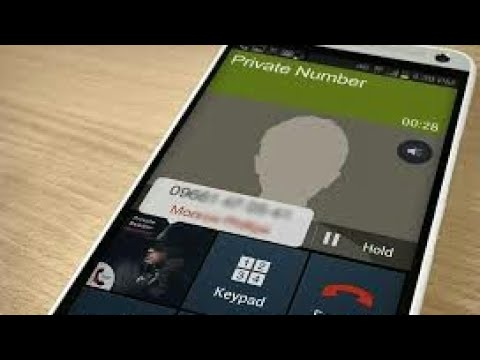 How to call someone from a private number for free...Any cou