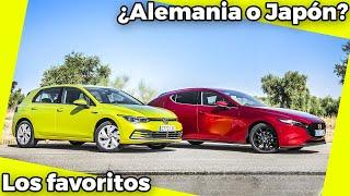 Los favoritos | Volkswagen Golf 2020 vs Mazda 3 2020 | Comparativa