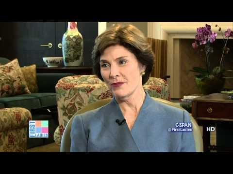Laura Bush on White House Correspondent