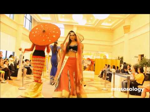 Miss Asia Pacific World 2014 National Costume Parade