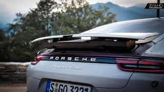 2017 porsche panamera turbo grey crayon   exterior interior design