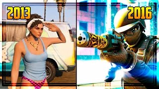 Looking Back at GTA Online's First Gameplay Trailer - Comparing GTA Online Over the Years!