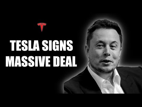 TESLA WILL SCARE COMPETITORS - Massive Battery Deal (They Will Dominate)