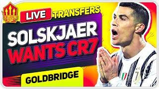 Solskjaer Wants Ronaldo! Van De Beek Exit Talks? Man Utd Transfer News