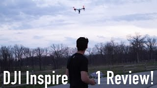 DJI Inspire 1 Review! - Is it better than the Phantom 4?