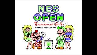 NES Open Tournament Golf - Baller Does Something Random