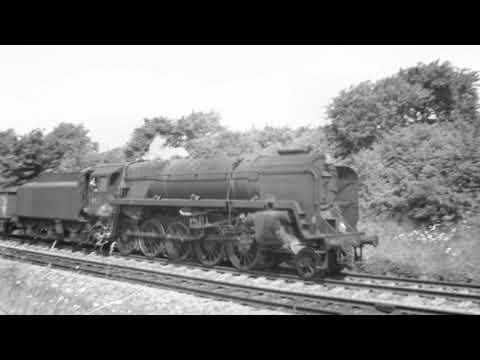 Honeybourne 92xxx & 75xxx August 1965