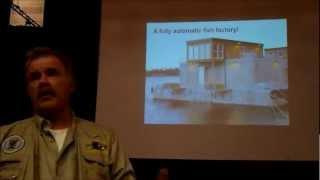 Kurt Oddekalv speaks about salmon farms in Ullapool.