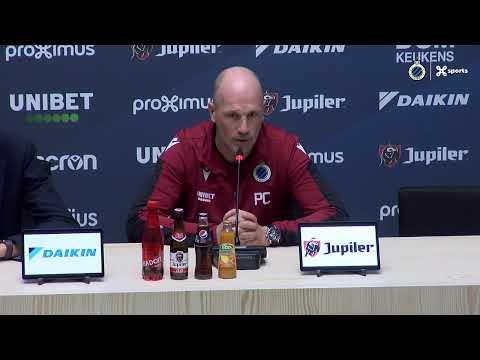 #CLUSTA   Philippe Clement blikt vooruit naar de match Club Brugge - Standard   2019-2020