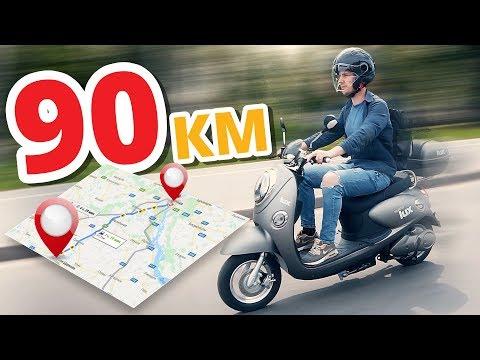 90 км НА ОДНОМ ЗАРЯДЕ ! Обзор электроскутера Maxxter Lux