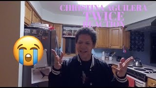 Download Lagu Twice - Christina Aguilera REACTION | Michael Smalz Mp3