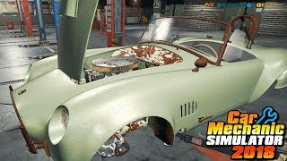 Car Mechanic Simulator 2018 (PC) ep65 Fixing DC Typhoon (New Story order 40 - added in 1.3.9)