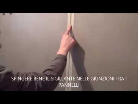 Elementy pannelli ristrutturare il bagno con i pannelli in