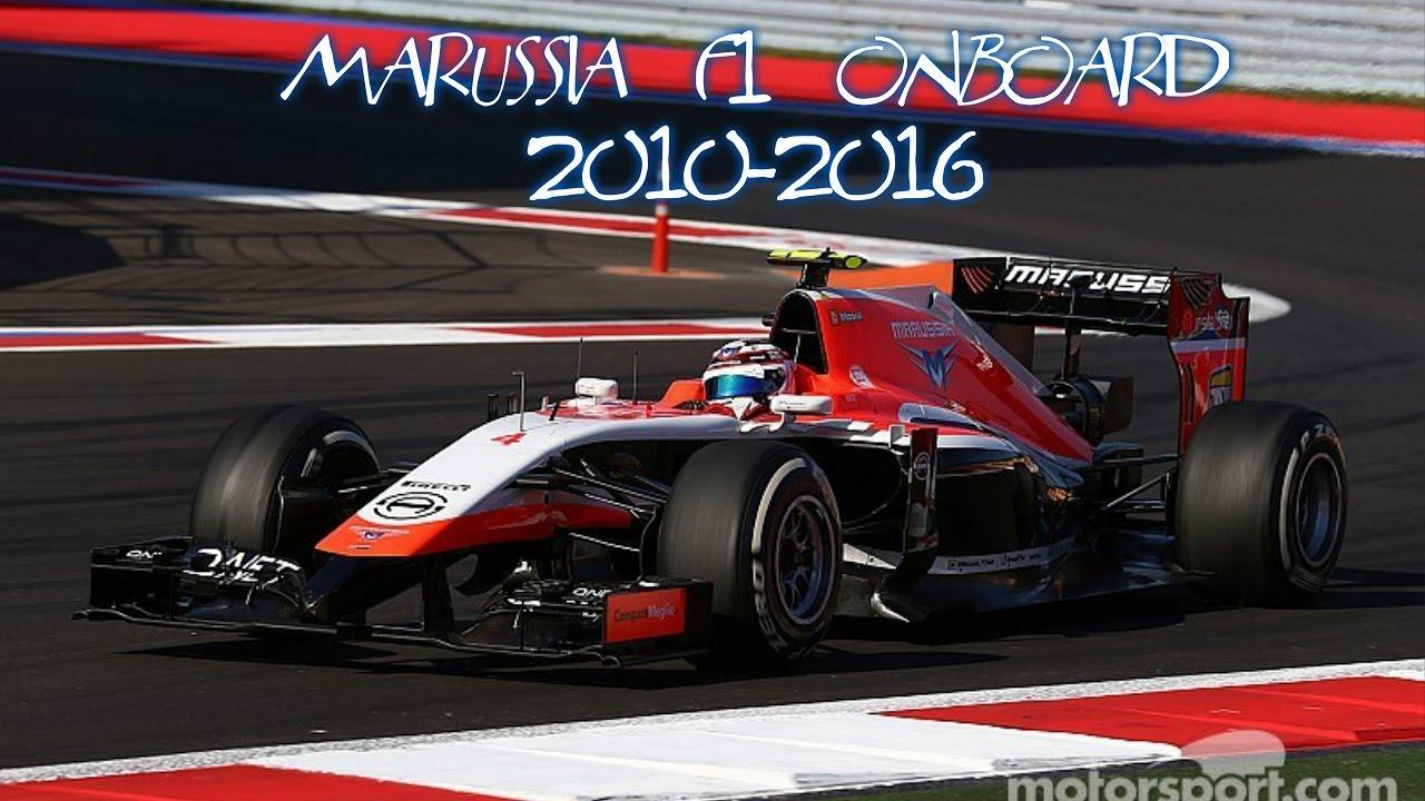 Download F1 Marussia onboard 2010-2016