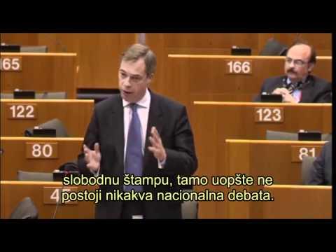 Nigel Farage - EU podmićuje Hrvatsku