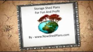 Storage Shed Plans Video Secrets