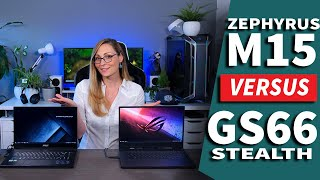 MSI GS66 Stealth vs ASUS ROG Zephyrus M15 - Two Thin & Powerful Laptops Head-to-Head