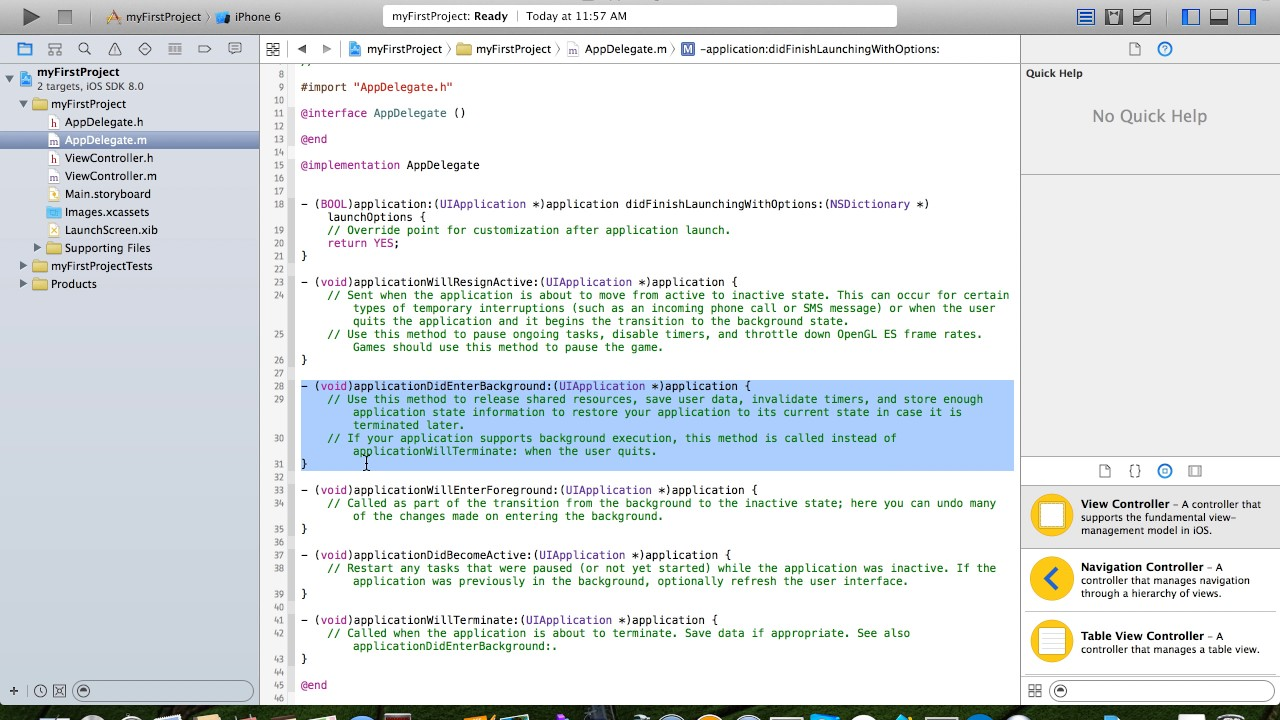 Online Tutorial for beginners- Learn how to build IOS apps with our Xcode  tutorial videos