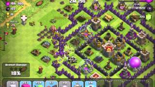 How to attack diagonal walls with new wall breakers AI in Clash of Clans