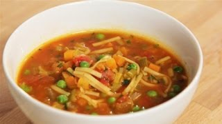 How To Make A Veg Packed Minestrone Soup: The Lighter Option - S01e7/8