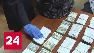 Смотреть видео Подозреваемый в краже сумки с деньгами во Внукове пытался уехать из Москвы на автобусе - Россия 24 онлайн