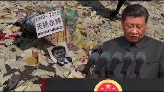 """Biểu tình Hồng Kông ngày 1/10: """"Không có quốc khánh, chỉ có quốc tang""""   Trí Thức VN"""