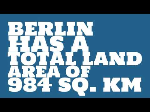 How does the population of Berlin rank?
