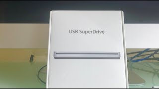 Gambar cover Apple USB SuperDrive 2019  Unboxing and demo how to use it
