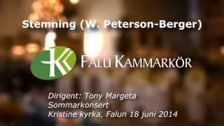 Falu kammarkör - Stemning (W. Peterson-Berger)