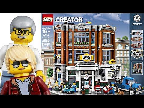 LEGO 2019 Modular Corner Garage - It's fine. Yeah. Just okay.