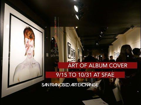 SAN FRANCISCO ART EXCHANGE - ART OF THE ALBUM COVER