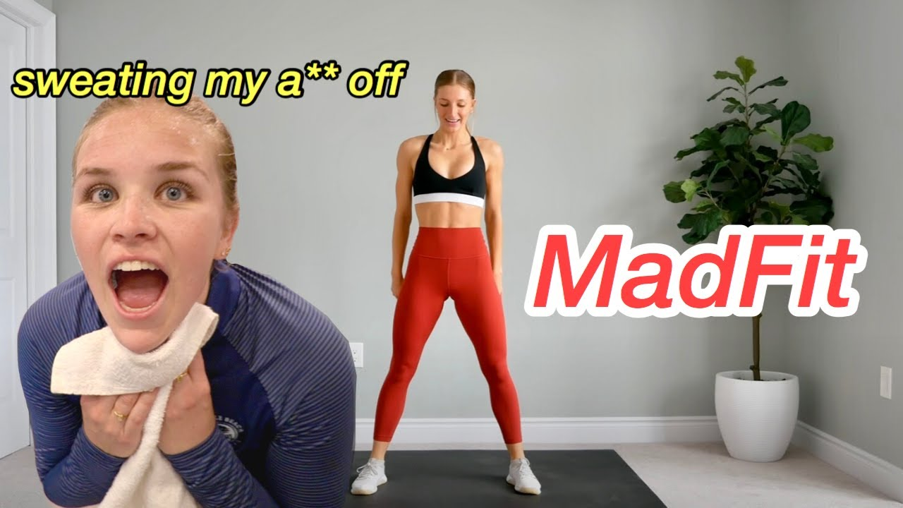 TURNING MADFIT'S SONG WORKOUTS INTO A FULL WORKOUT ROUTINE *the most embarrassing thing ever*