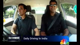 Harsha Bhogle drives the Volkswagen Vento IPL edition Vento - OVERDRIVE