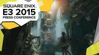 Rise of the Tomb Raider Cinematic Trailer - E3 2015 Square Enix Press Conference