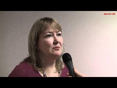 Kristine Mollø-Christensen(No) - interview efter hendes oplæg om den norske Nei til EU-kamp